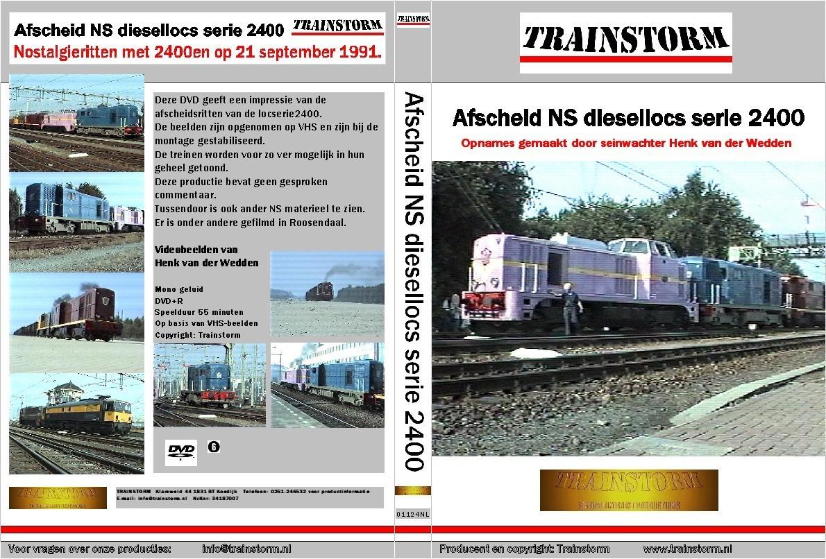 Afscheid NS diesellocs serie 2400