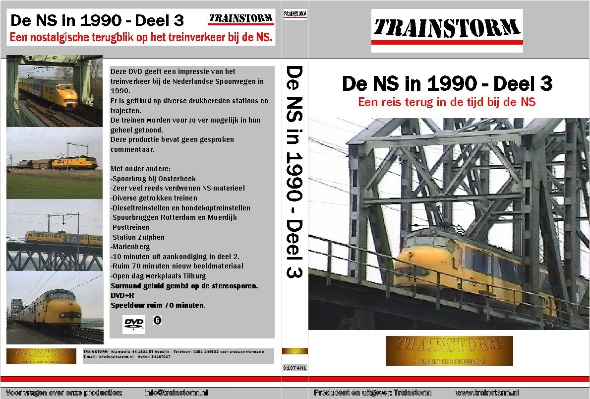 De NS in 1990 deel 3