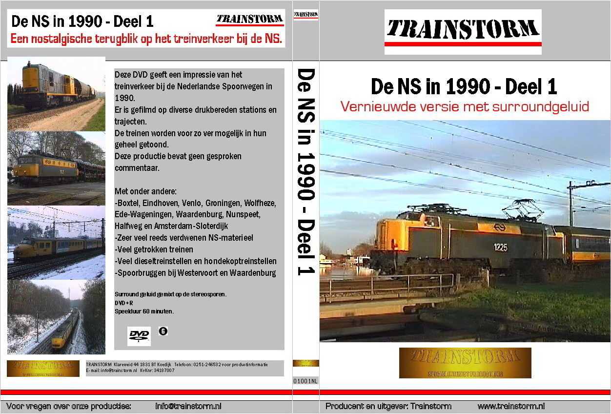 De NS in 1990 deel 1