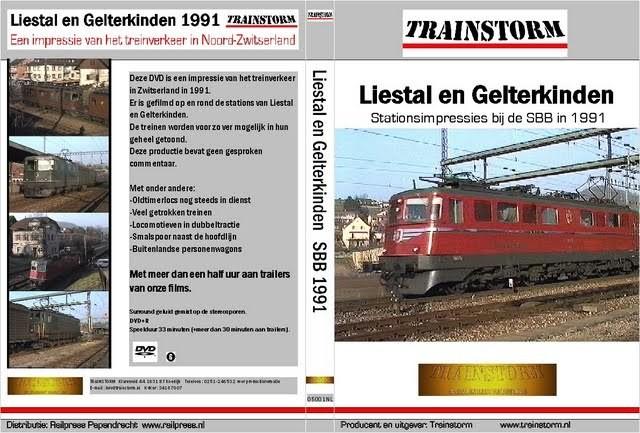 SBB Liestal en Gelterkinden 1991