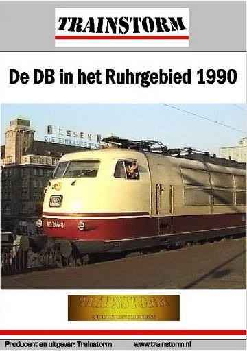 De DB in het Ruhrgebied 1990 DUBBEL DVD