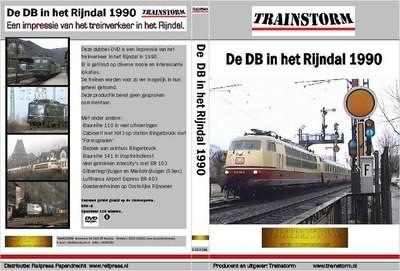 De DB in het Rijndal 1990 DUBBEL DVD