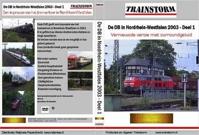 De DB in NordRhein Westfalen 2003 deel 1