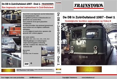 De DB in zuid-Duitsland 1987 deel 1