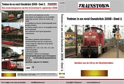 Treinen in en rond Osnabrück 2008 deel 1