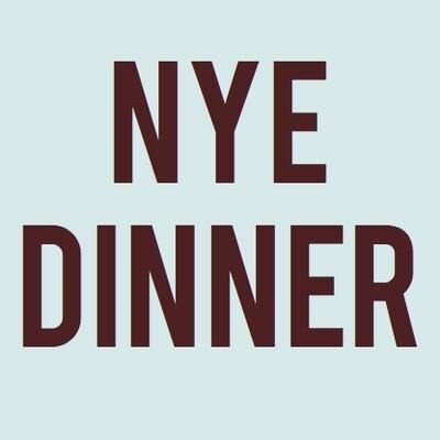CHEEK NYE DINNER (DEC 31st)