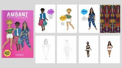 PDF Design & Coloring Book