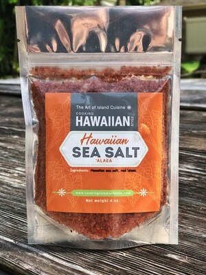 3 Hawaiian Sea Salts ('Alaea, 'Ele'ele, Keo'keo) 12oz