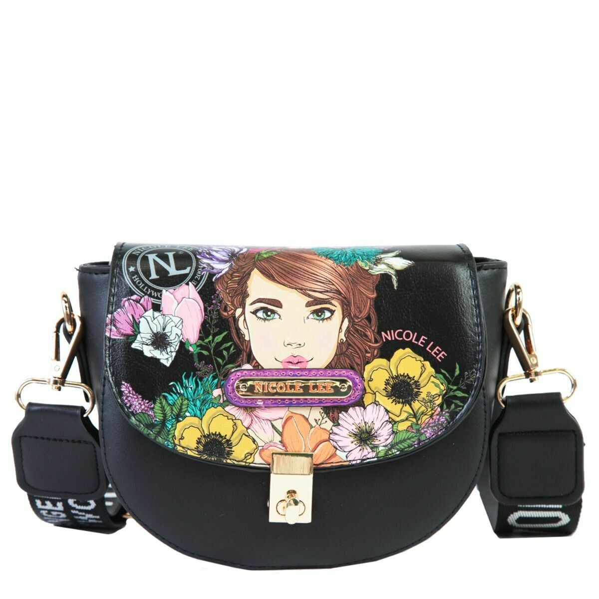 Кроссбоди SADDLE PRINTED CROSSBODY BAG