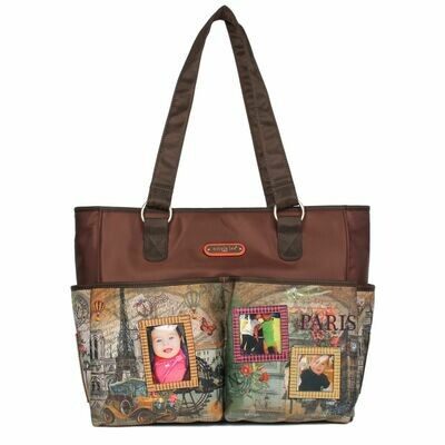 Сумка MABEL DIAPER BAG WITH CHANGING MAT AND PHOTOGRAPH FRAME