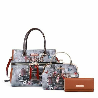 Сумка SATCHEL PARIS 3PC SET