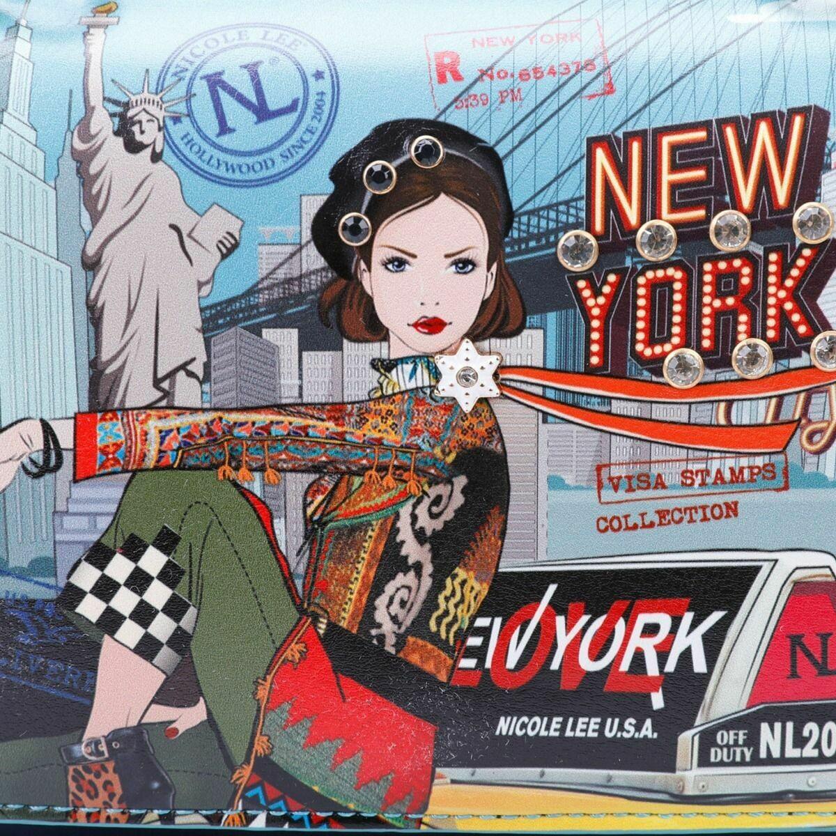 Кроссбоди COLOR BLOCK NEW YORK CROSSBODY BAG