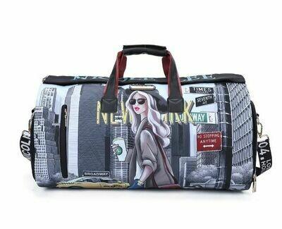 Спортивная сумка с принтом GYM15200