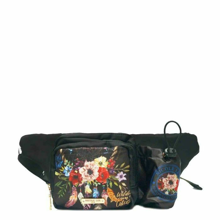 Напоясная сумка с принтом CRINKLE NYLON FP16100