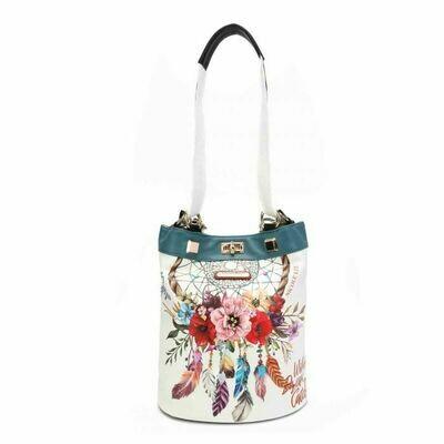 Рюкзак/сумка BOHEMIAN WHITE NICOLE LEE  BOW16088