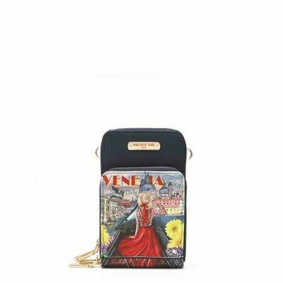 Кроссбоди/кошелёк c тачскрином для телефона NICOLE LEE PRT7111