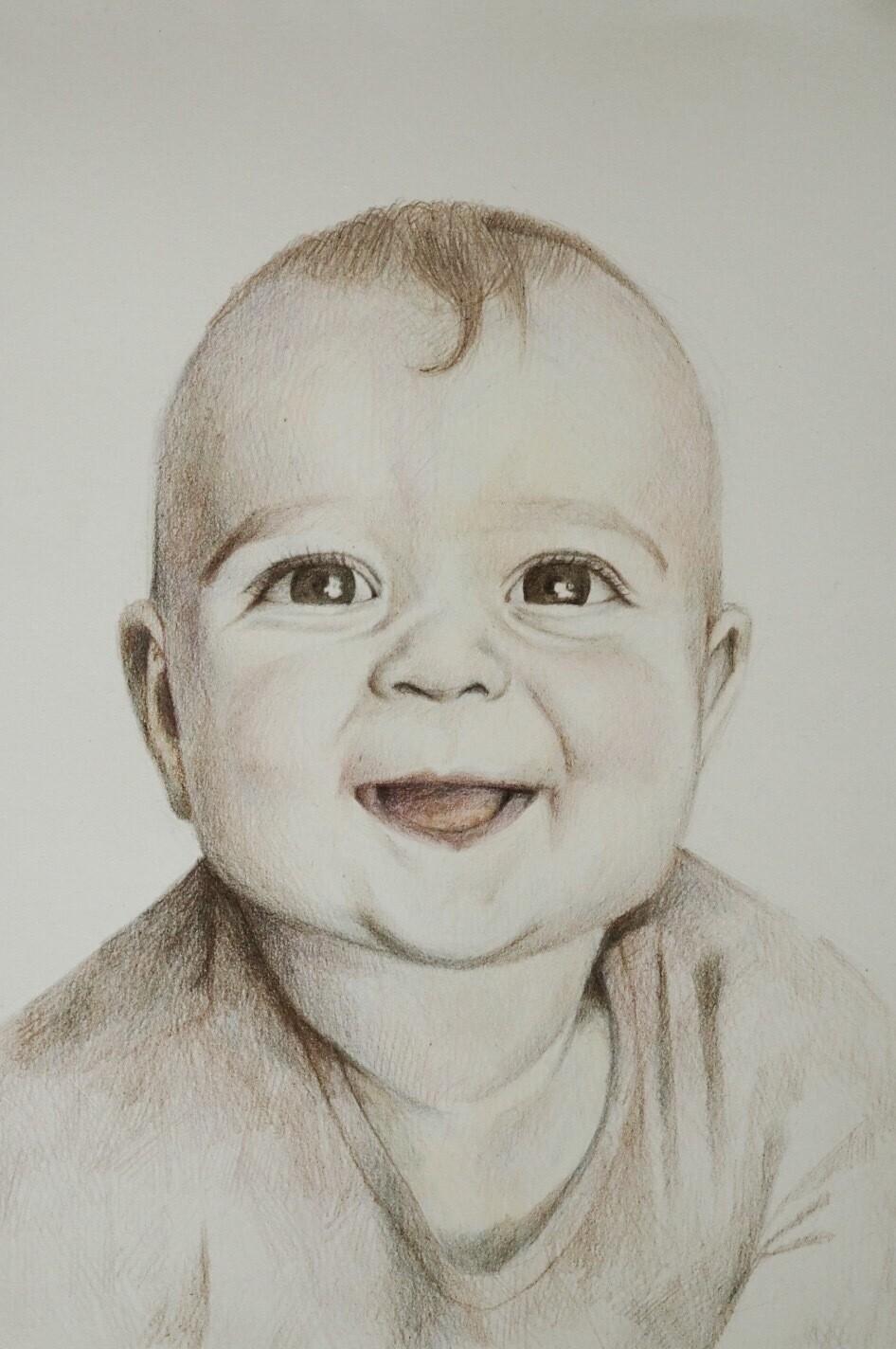 Portret dziecka A4