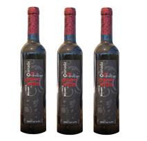 3 bottles of dessert pomegranate wine.