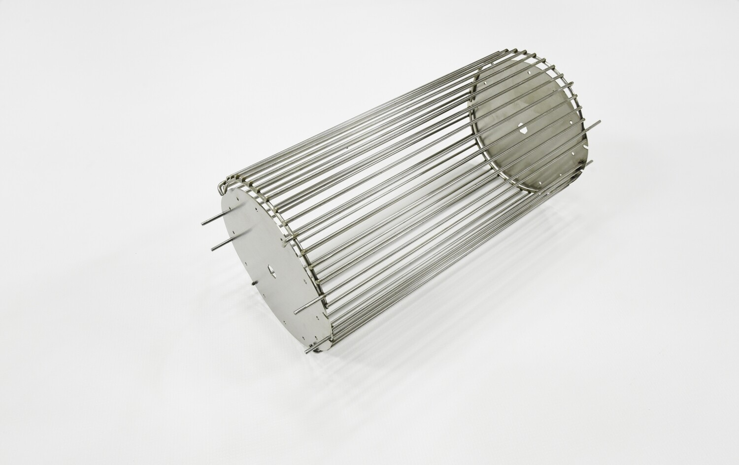 """Rotisserie Basket with 3/8"""" Square Plate"""