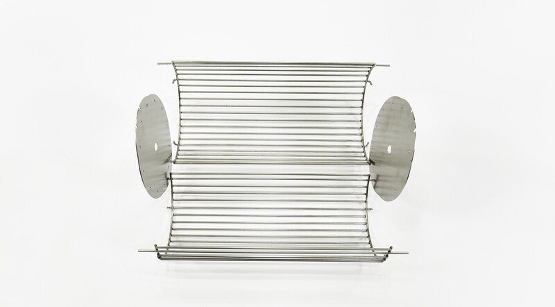 Rotisserie Basket with 1/2