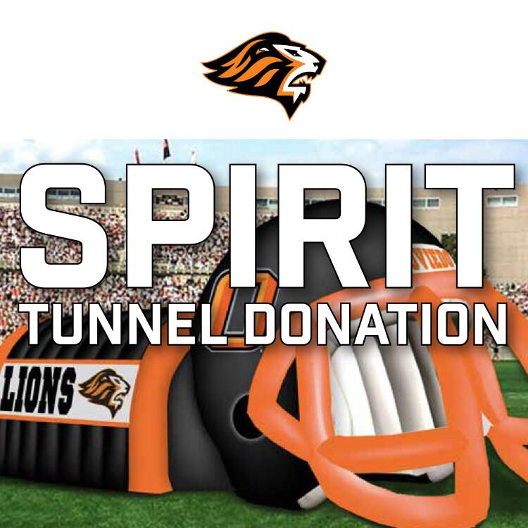 Spirit Tunnel Donation