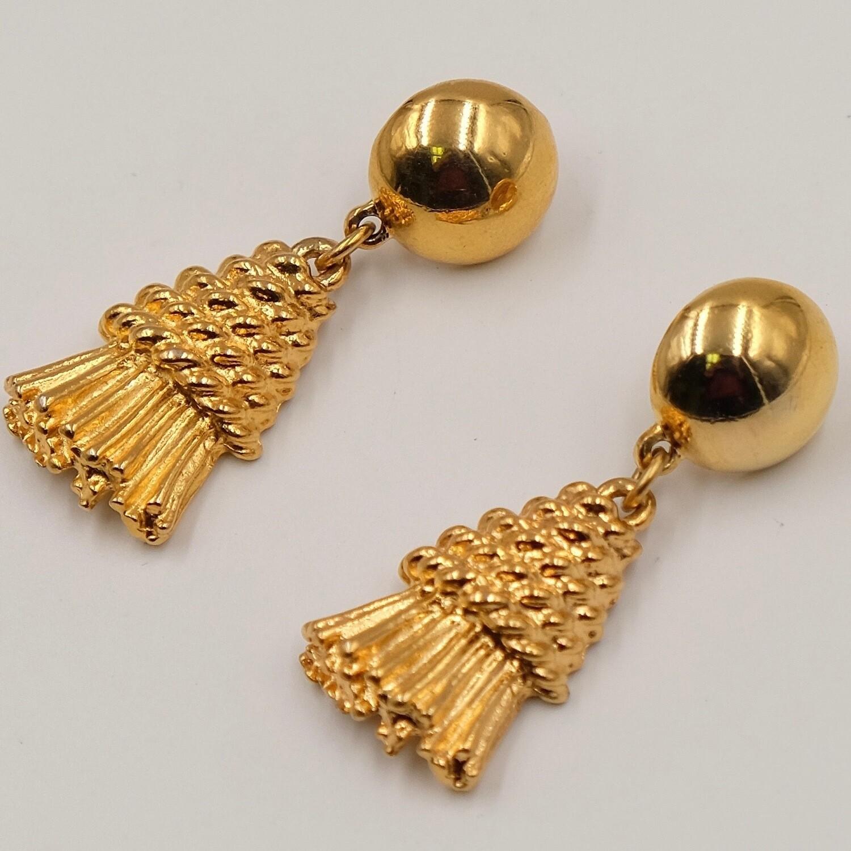 Tassel Vintage Earrings 1990's