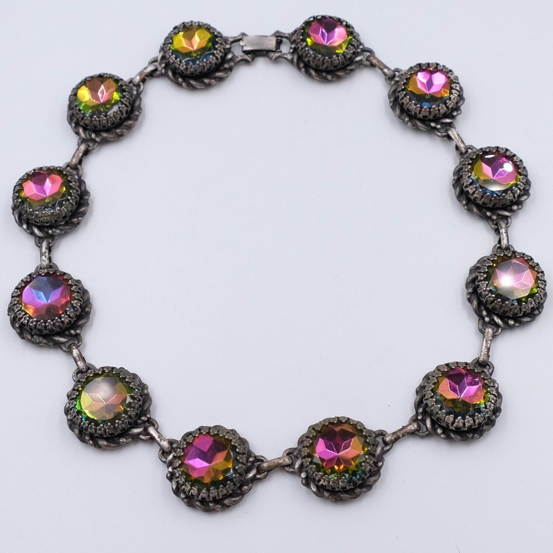 Vintage Necklace Elsa Schiaparelli 1950's