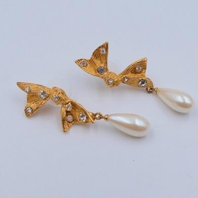 Vintage Marvella Pierced Earrings