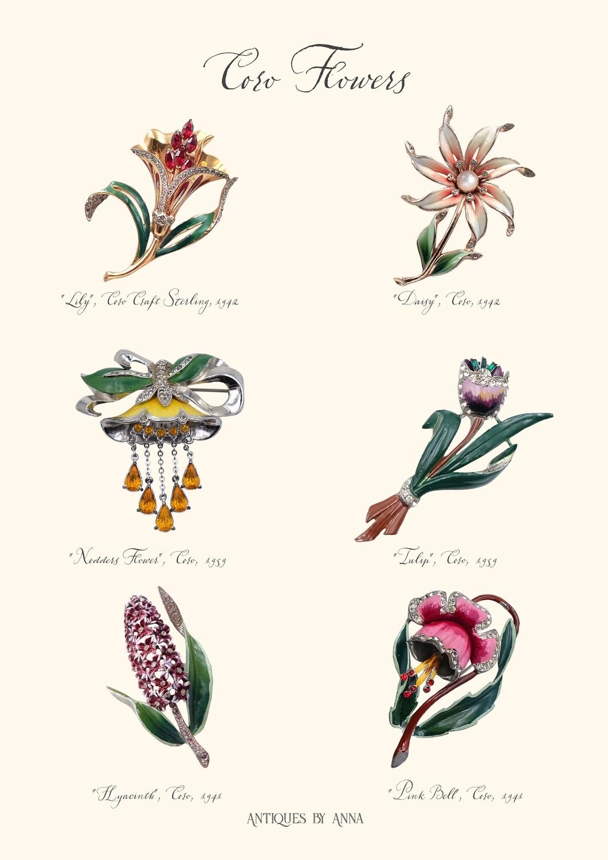"""Открытка или плакат """"Coro Flowers"""""""