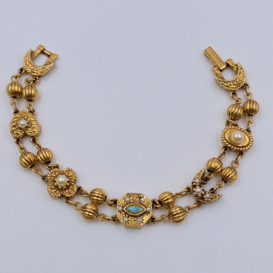 Victorian Revival Bracelet 1960's