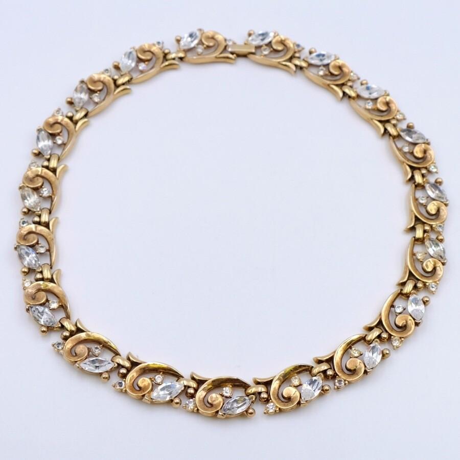 Vintage Trifari Classic Necklace 1950s