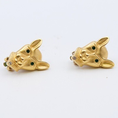Vintage Cats Earrings 1990s