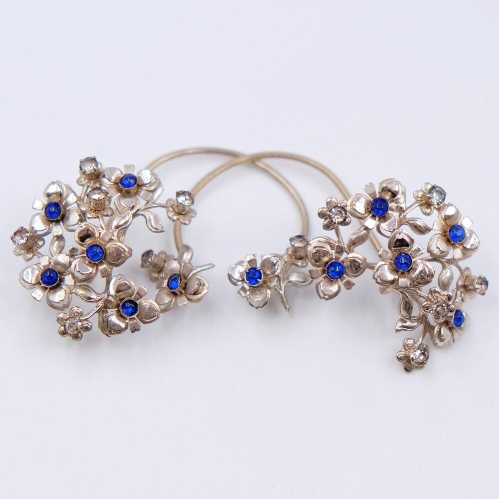 Rare Cuff Earrings 1950s