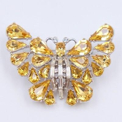Vintage Ora Butterfly Brooch 1950s