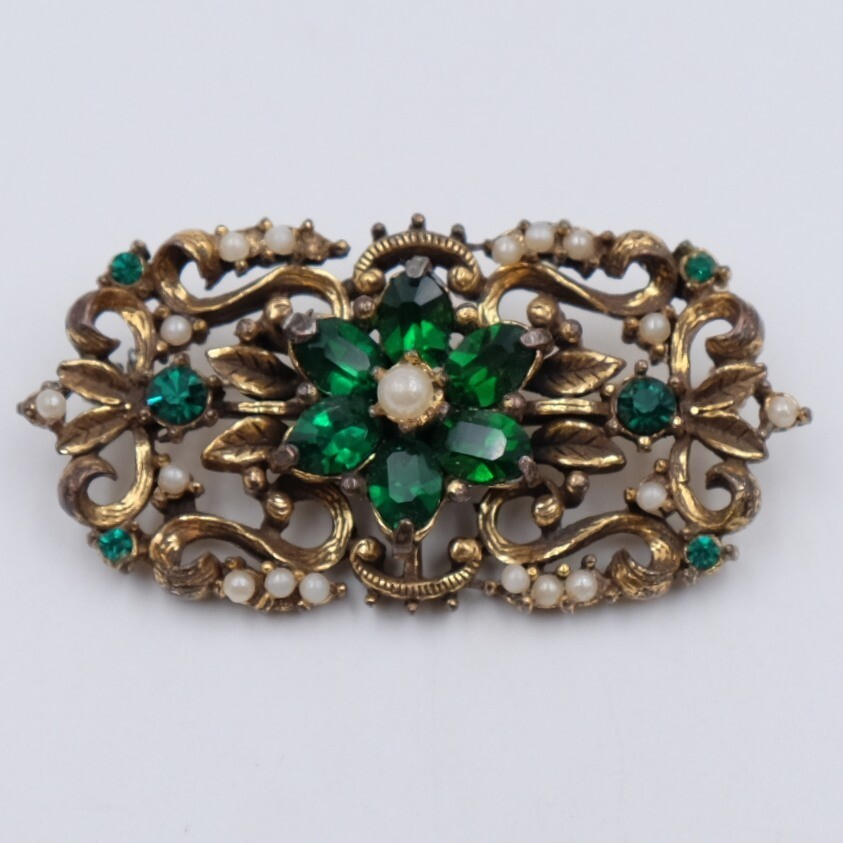 Vintage Coro Early Brooch