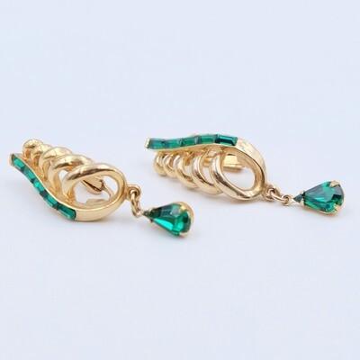 Vintage Coro Earrings 1950s