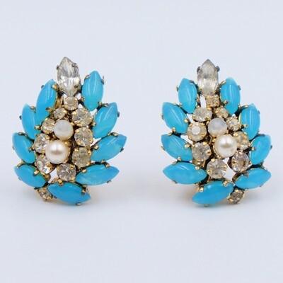 Vintage Christian Dior Germany 1960s Earrings