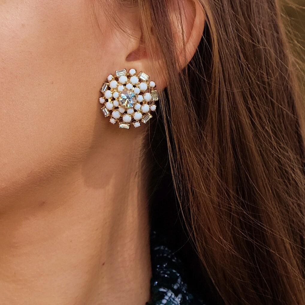 Vintage Hattie Carnegie Earrings