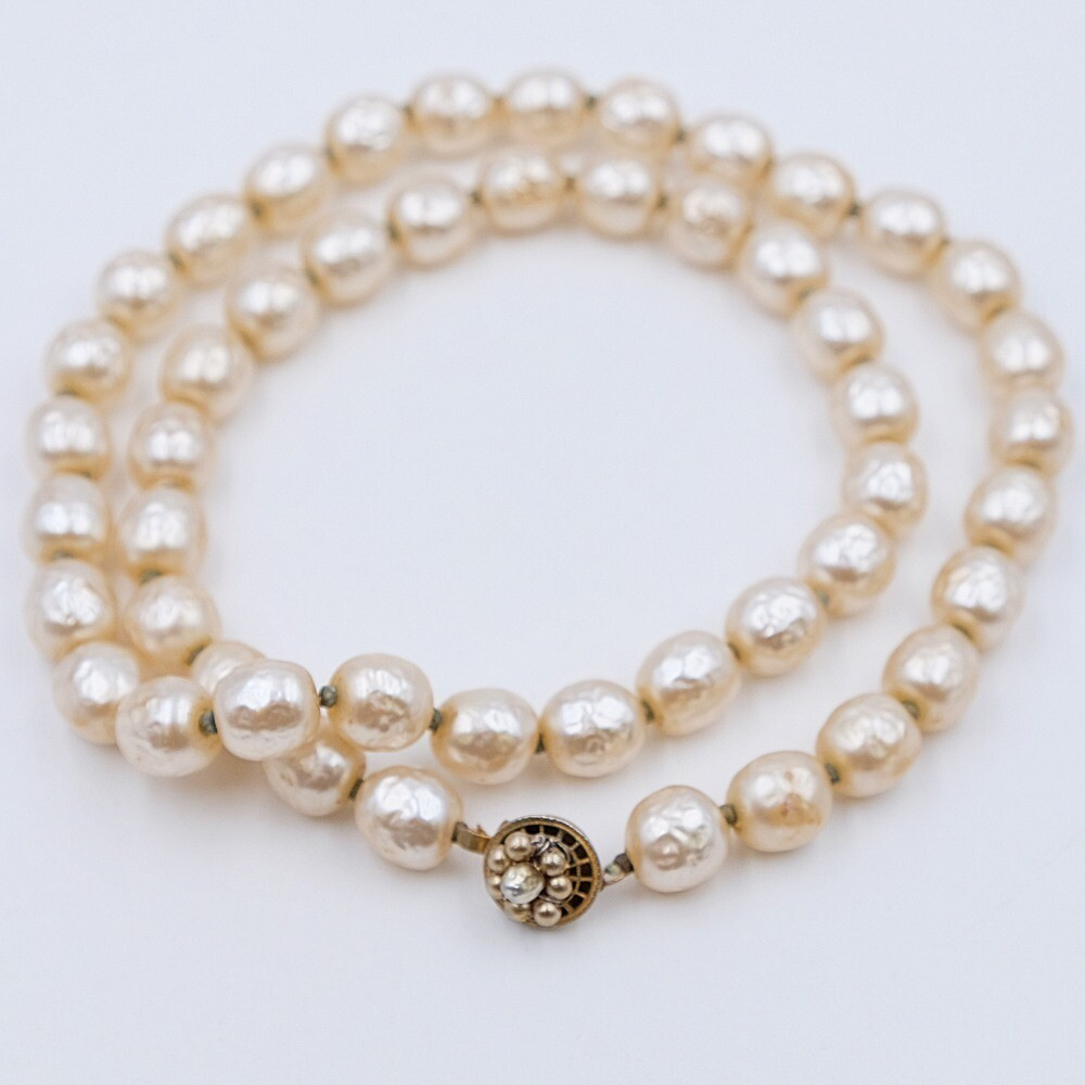 Haskell Classic Pearl Necklace
