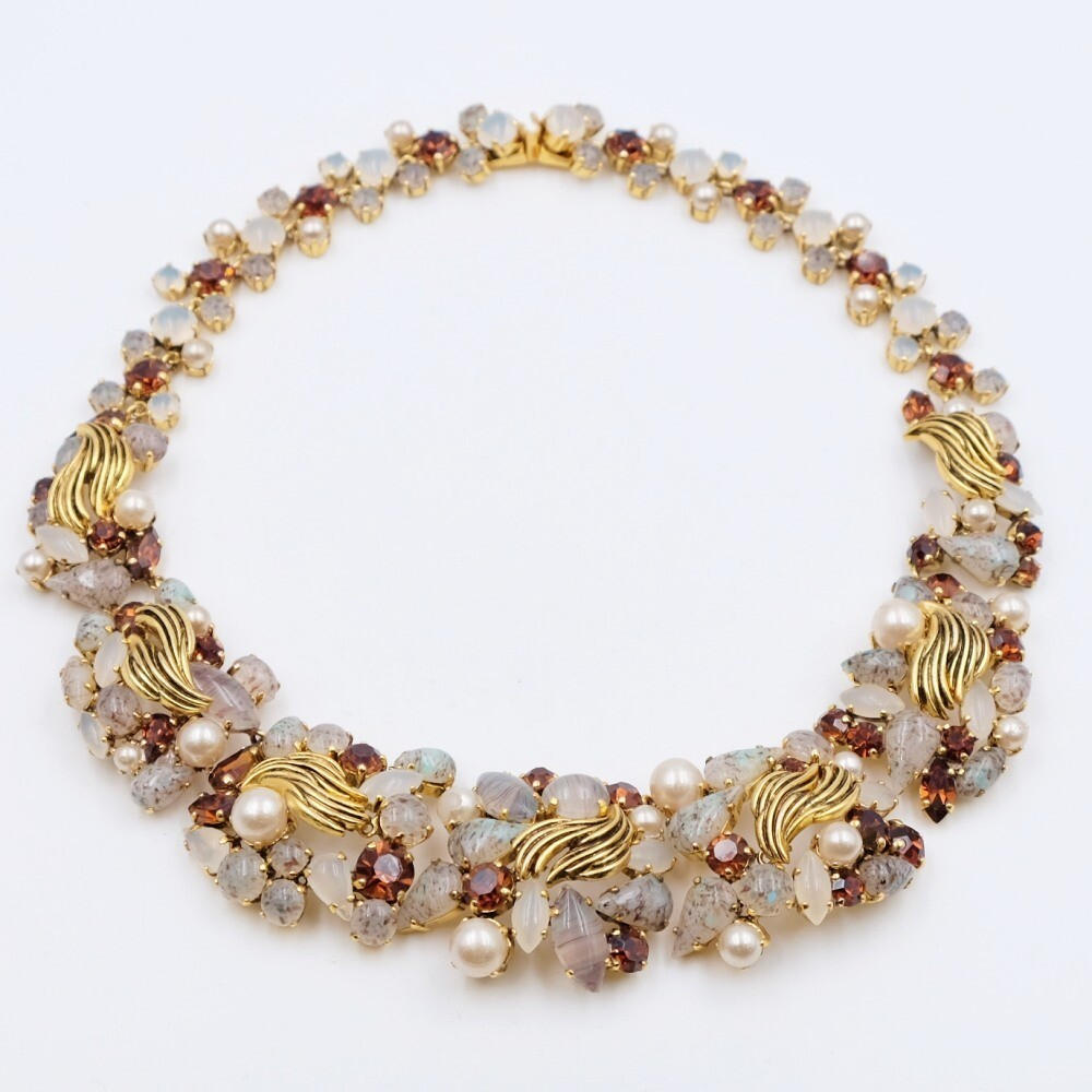 Rare Collectible Christian Dior Germany Necklace 1964
