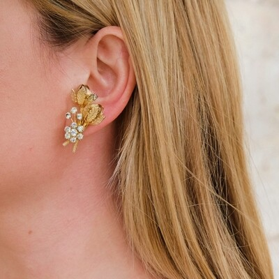 Vendome Flower Earrings