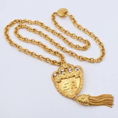 Vintage Sonia Rykiel Tassel Necklace 1990е
