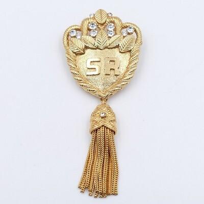 Vintage Sonia Rykiel Tassel Pin 1990s
