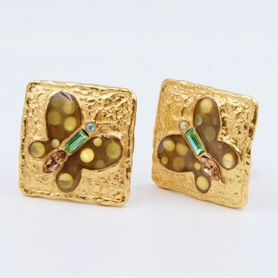 Vintage Christian Lacroix Bijoux Earrings