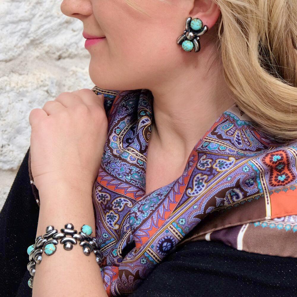 Vintage Joseff of Hollywood Bracelet and Earrings