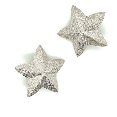 Vintage Christian Dior Stars Clip on Earrings 1990s