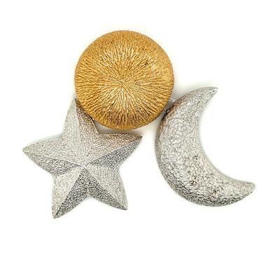 Vintage Christian Dior Pin Sun Moon Star 1990s
