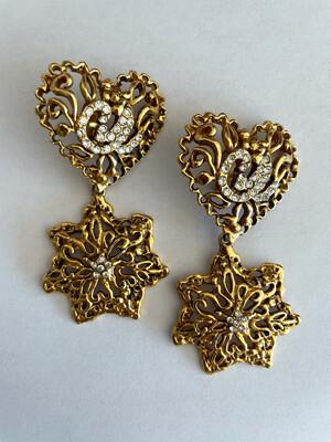 Vintage Christian Lacroix Earrings 1990s