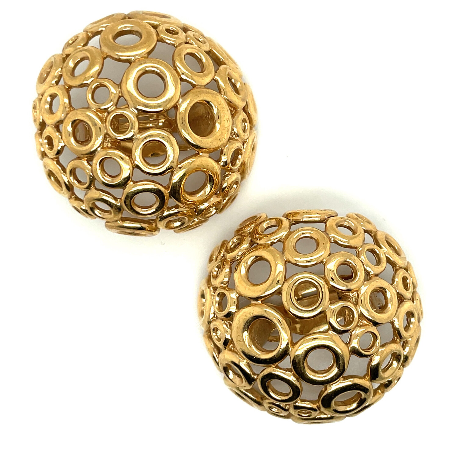 Vintage Givenchy Bubble Earrings 1980s