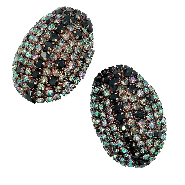 Very Collectible Yves Saint Laurent YSL Ladybug Earrings 1980s